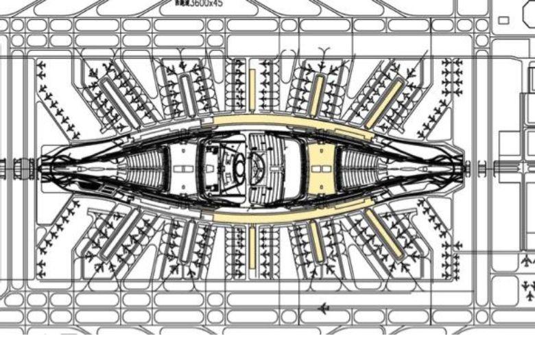 漫谈金属屋面的建筑设计应用(1)——广州新白云国际机场航站楼_2