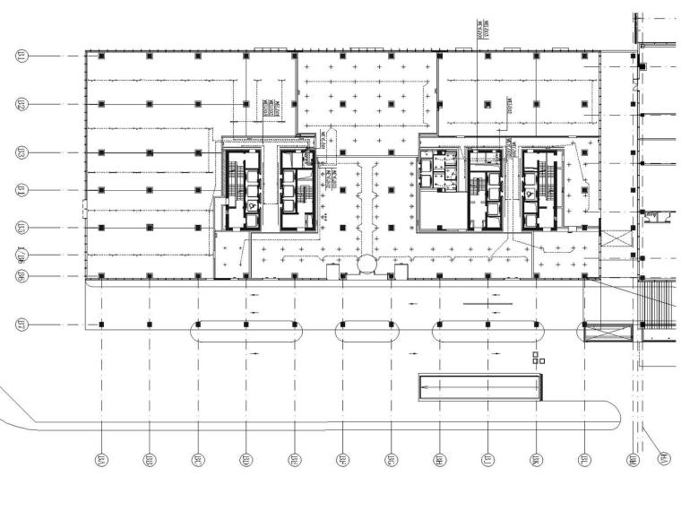 [北京]望京朝阳区B15地块高层办公楼公共区域及标准层供电及照明电气图纸
