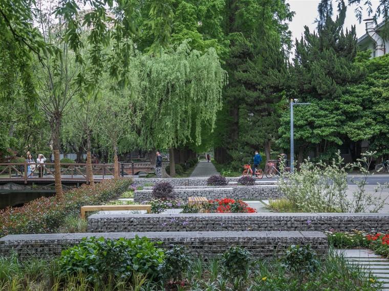 上海同济大学四平路校区景观