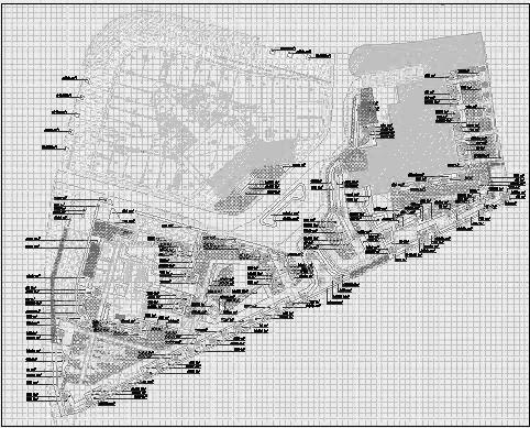 四川成都金色海蓉景观设计施工图-植物设计5