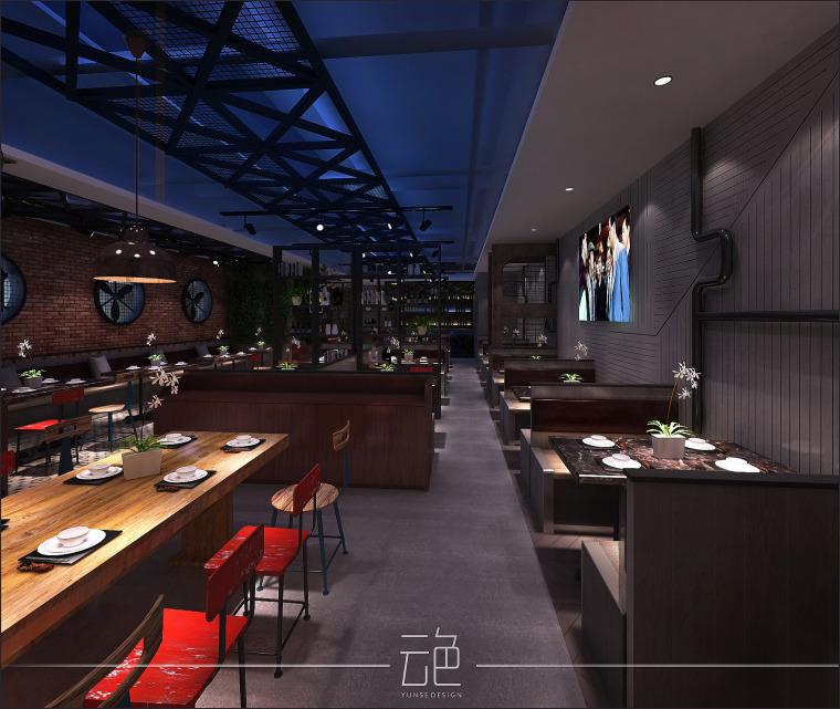 广州天娱广场江湖情餐厅_5