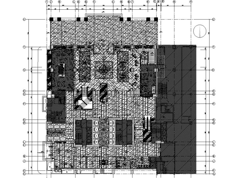 中山国际金融中心酒店施工图设计+效果图