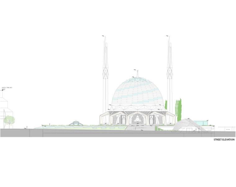土耳其马尔马拉大学神学系清真寺-19