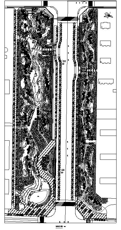 [内蒙古]边境口岸生态道路景观设计全套施工图(知名公司设计)