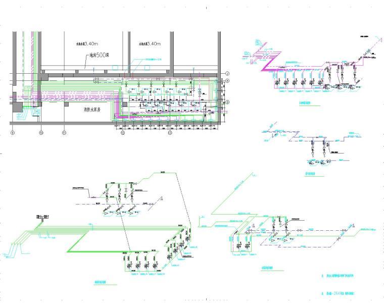 [浙江]温州大剧院给排水设计全套图纸(变频供水方式)_4