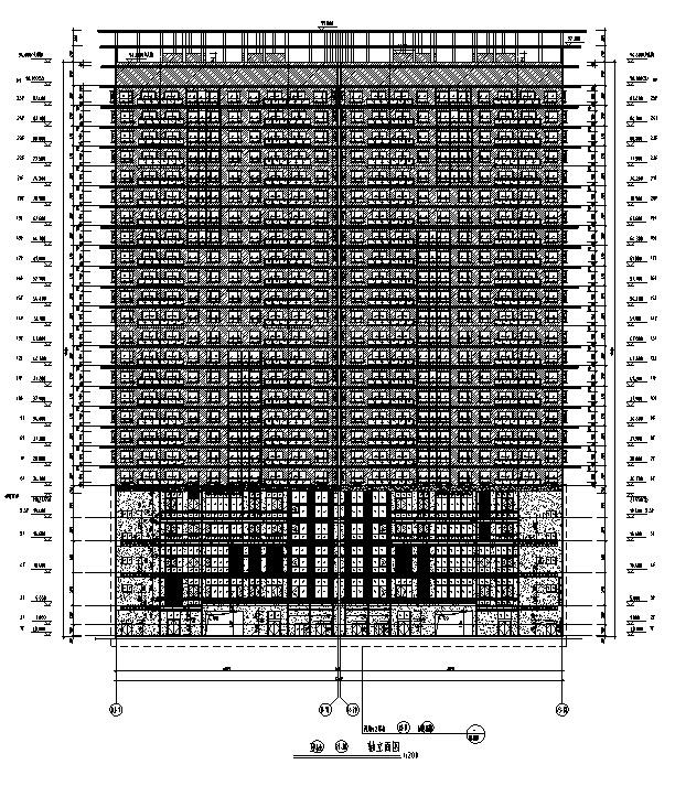 [江苏]知名设计院高层住宅及商业建筑设计施工图(含水暖电)