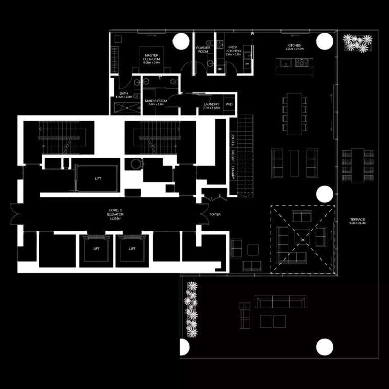 """迪拜造了""""天空中的别墅"""",最小户型300平米,顶层复式卖3.4亿_16"""
