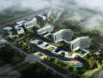 [北京]小清新设计感超大型甲级医院建筑设计方案文本