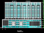 高层框剪结构商住楼全套设计图