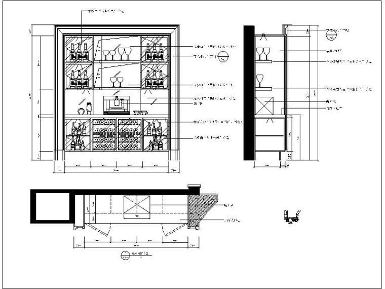 别墅酒柜设计详图