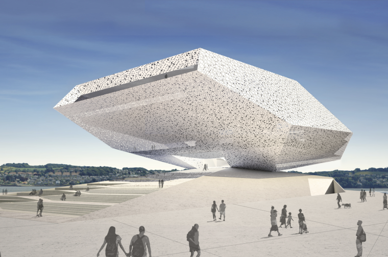VA方案资料下载-[英国]邓迪V&A博物馆竞标建筑方案文本