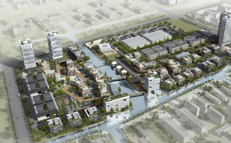 [上海]光电之星科技港智城概念规划设计方案文本