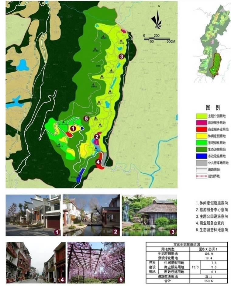 [重庆]生态休闲旅游度假区景观设计方案