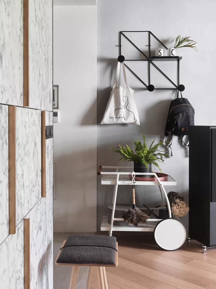 83㎡的现代简约风,粉色+白色的卧室好唯美!