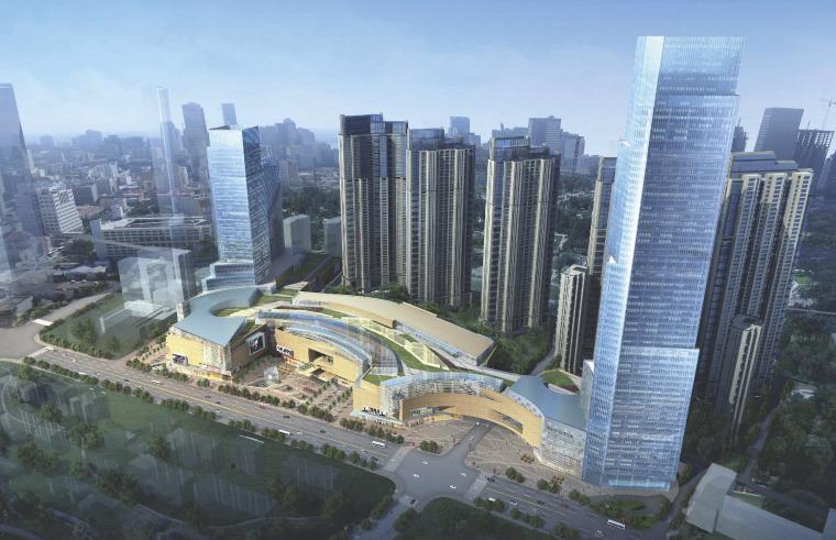 [山东]青岛大型商业综合体建筑设计方案文本