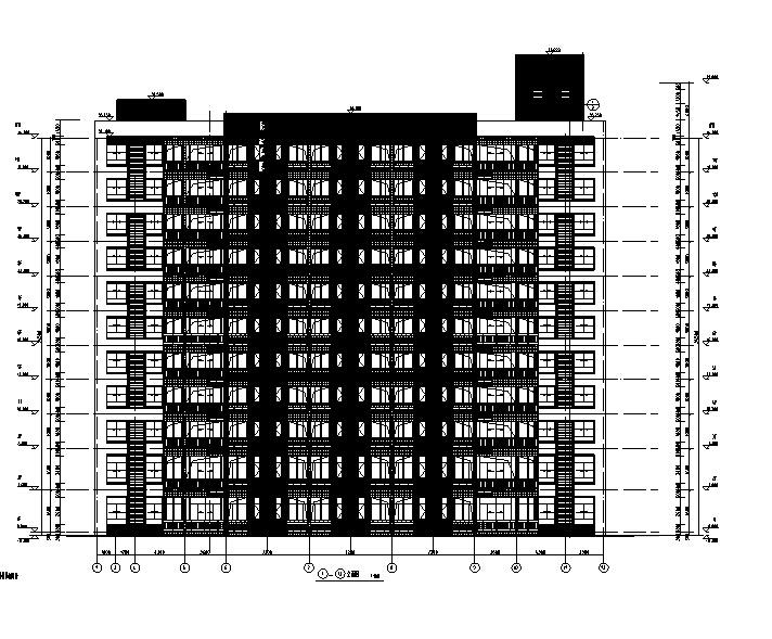 [广州]高层碧桂园小学教学楼、宿舍、综合楼施工图(含水电园林)