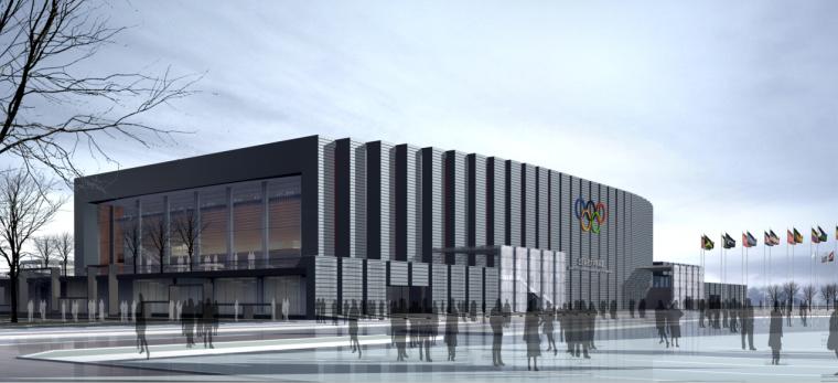 [北京]大学跆拳道馆建筑设计方案文本(含CAD及pad文件)