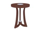 小圆椅子3D模型下载