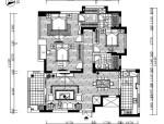 精致三居室设计施工图