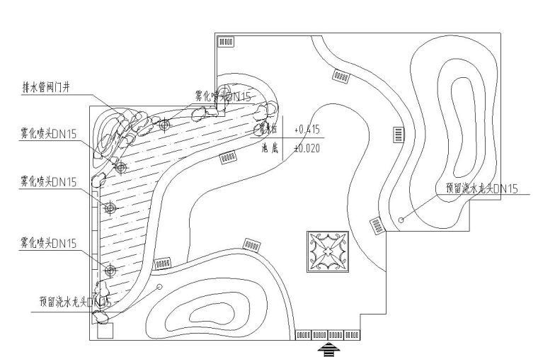 屋顶花园景观工程全套施工图
