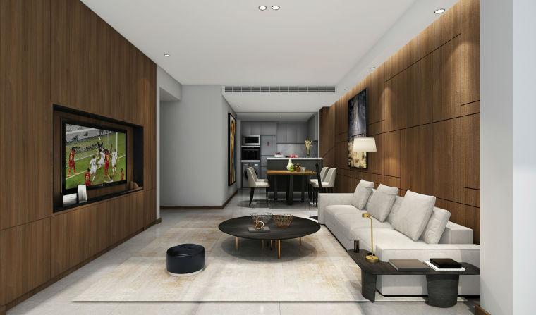 [案例鉴赏]96平米现代风格装修,造价10万-3