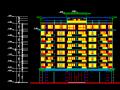 深圳福田中心区高层住宅建筑设施工图(某建筑师事务所)