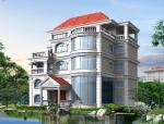 四层别墅建筑方案设计(包含CAD)