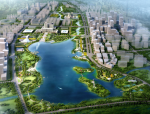 [山东]济宁北湖湾公园市民公园景观方案设计(转变,优质)
