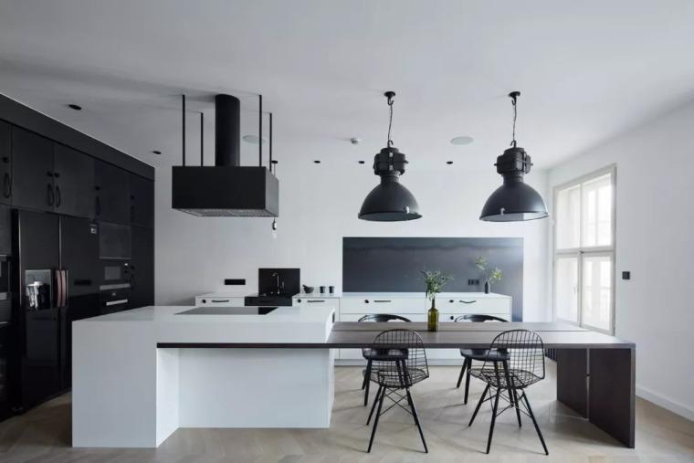 厨房比客厅还好看,让你爱上做饭!!_20
