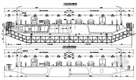 悬索-斜拉协作体系标准横断面节点详图设计