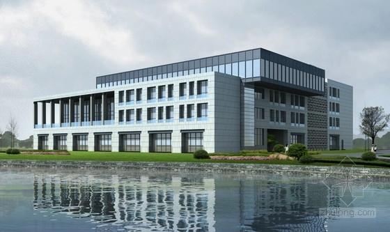 [浙江]知名大学国际海洋经济技术研究院综合楼结构施工图(含建筑图)