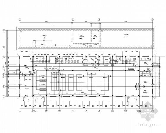 [山西]污水处理及回用厂废水回用工程设备图
