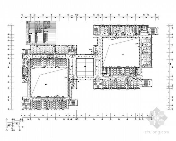 [山东]知名大学公共教学楼电气施工图纸