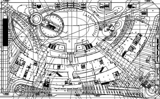 [深圳]城市广场园林景观工程全套设计施工图