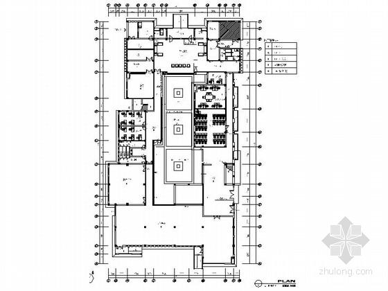 [苏州]风景旅游度假区新农村示范社区服务中心装修设计施工图