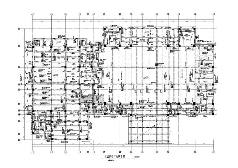 [厦门]酒店框剪结构施工图(审查合格终审版