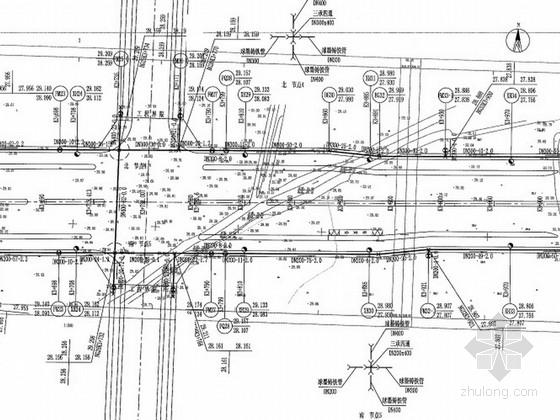 [安徽]市政道路工程给排水及弱电工程施工图设计131页