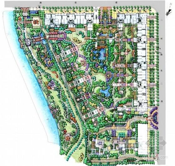 [四川]现代生态居住区项目景观设计方案(知名地产公司项目汇报)