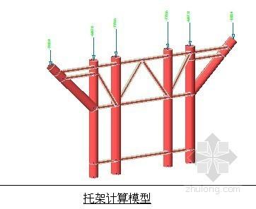 [南平]现浇箱梁模板及钢管贝雷支架设计计算书(中交)
