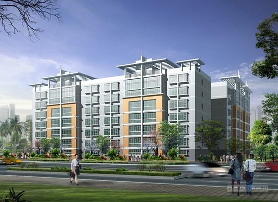 [安徽]住宅楼建筑安装工程预算书(施工图纸 一点智慧软件应用)