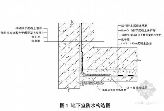 [深圳]地下室自粘防水卷材施工方案