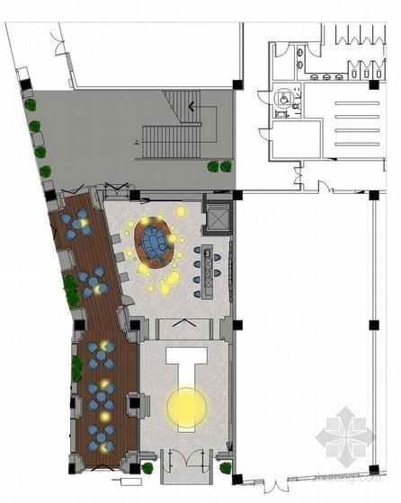 唯美法派法式新古典售楼处软装概念方案