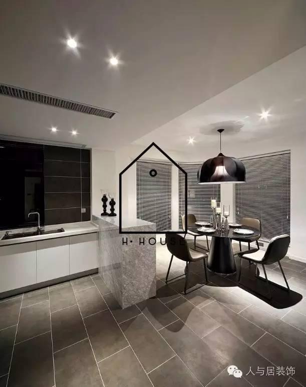 室内设计--黑白简约主义_5