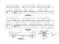 梁柱粘钢法加固结构大样图(CAD、10张)
