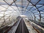 钢结构打造德国汉堡易北河桥新地铁站