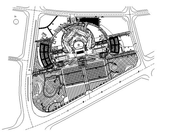 [合集]海绵城市办公空间景观设计施工图(3套)