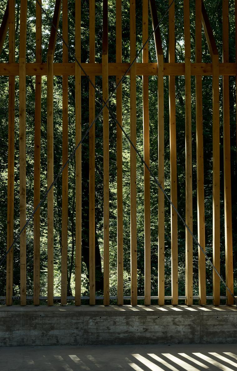 瑞士丛林木结构HolzkorporationDübendorf工厂-4