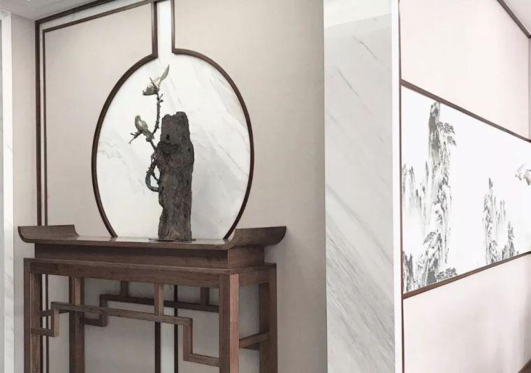 新中式徽派元素山水画为轴线的家装设计_23