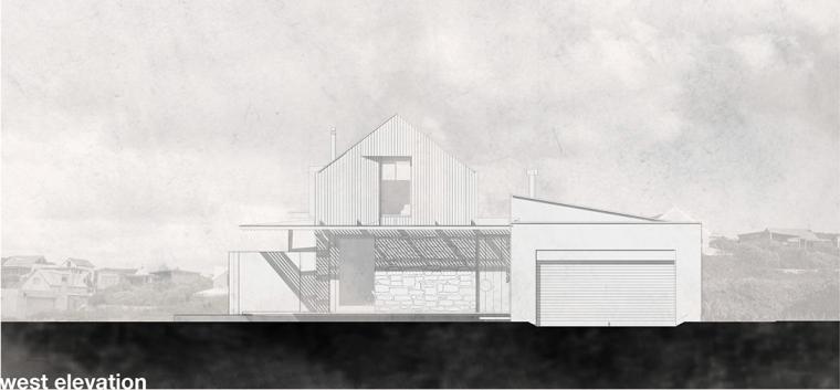 南非海岸线传统的独户家庭住宅-19