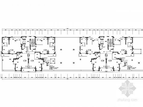 [河南]高层宾馆住宅综合楼采暖通风及防排烟系统设计施工图